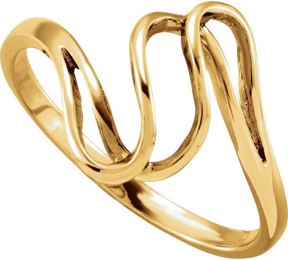 14K Yellow Gold Metal Fashion Ring