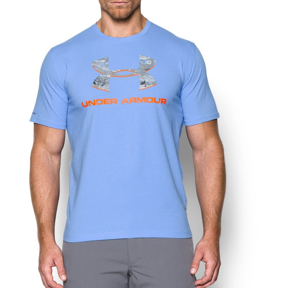 04cec979a2 Under Armour Men's Camo Fill Logo T-Shirt