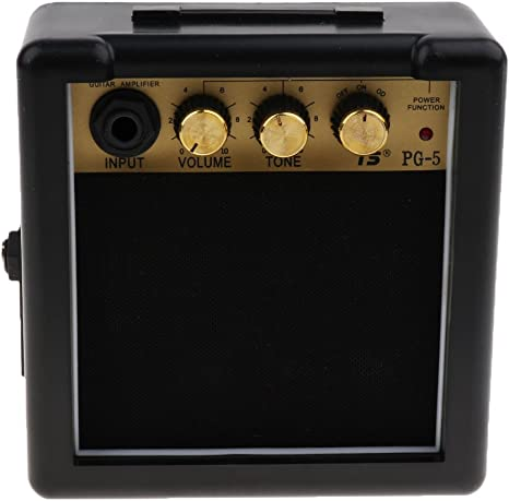 Mini Amplificador Altavoz de Guitarras eléctricas portátil ...