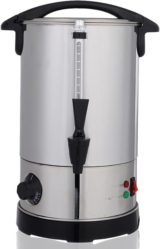 vidaXL Glühweinkocher 6,8L 2000W Wasserkocher Glühweinkessel Glühweinautomat