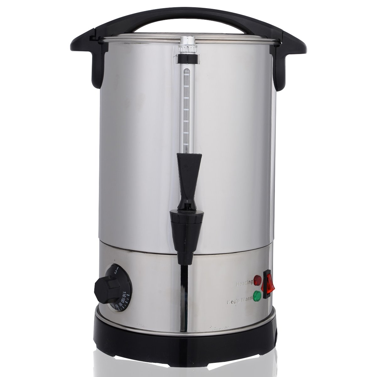 DPThouse Electric Water Boiler and Warmer Stainless Steel 6 Quart, medium, Silver by DPThouse