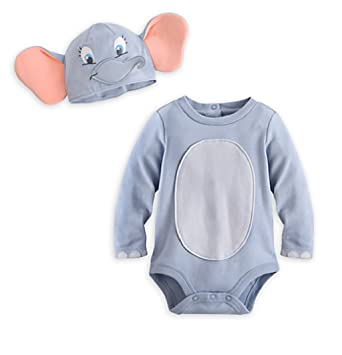 b284a78f89c0 Amazon.com  Dumbo Costume Bodysuit for Baby (18-24M)  Clothing
