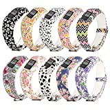 For Garmin Vivofit jr.2 Bands[Printing Patterns Style]RuenTech Replacement Soft Silicone Adjustable Wristbands Strap For Garmin Vivofit jr 2/Vivofit jr Kid's Band