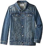 The Children's Place Big Boys' Basic Denim Jacket, Stream, X-Large