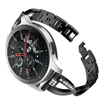 XingWangFa for Samsung Galaxy Watch (46mm) Straps Correas [X Type ...