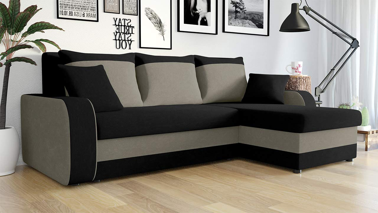 Design Eckcouch Couch L Form Sofa Seite Universal Farbauswahl