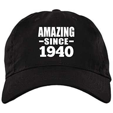 Amazon com: Designsify Amazing Since 1940 - Brushed Twill