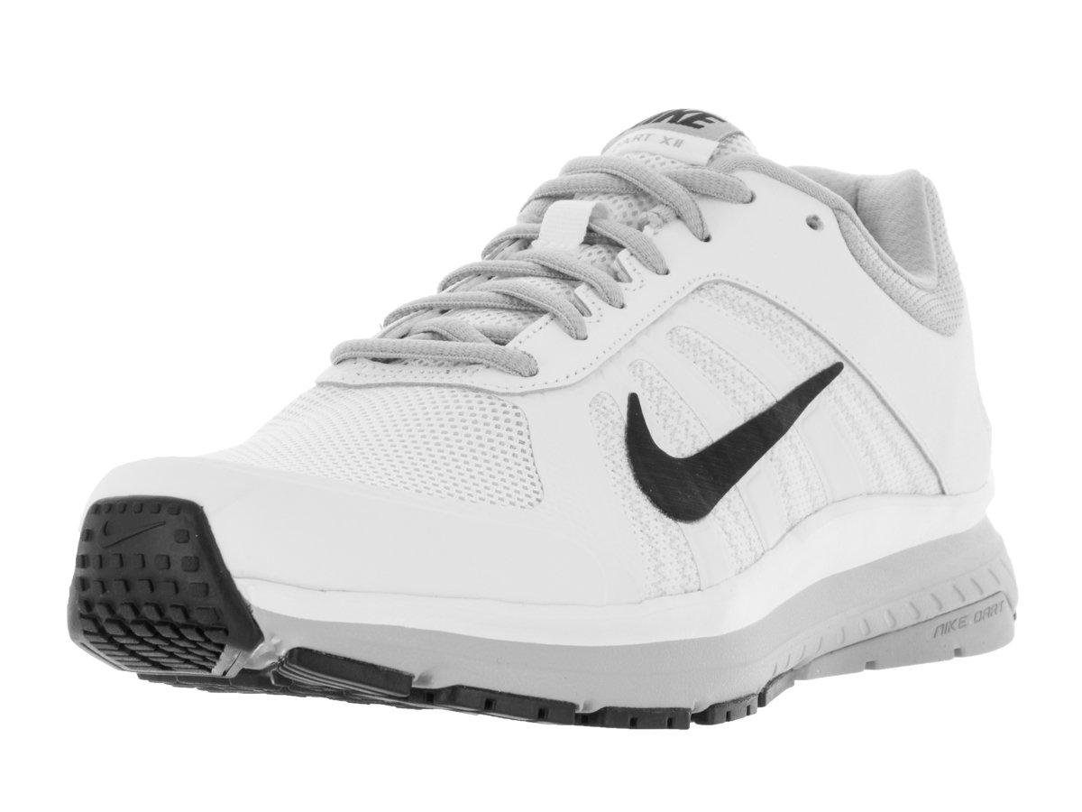 Nike Dart 12, Zapatillas de Running para Hombre 42 EU Blanco (White / Black-wolf Grey)
