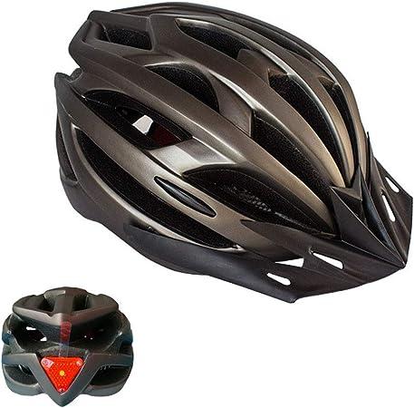 Feicuan Casco de MTB Ciclismo para Hombres Mujeres - 52-61 cm Casco Bicicleta con Parasol Amovible Diadema Ajustable para Montaña Carretera Patineta ...