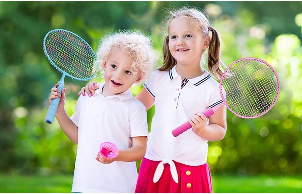 Badminton Rackets Set for Kids Children Adults Indoor//Outdoor Sport Game