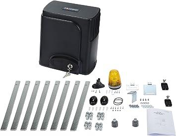 G.T.Master Kit de abridor de puerta corredera de rack automático - Equipo de seguridad para puerta