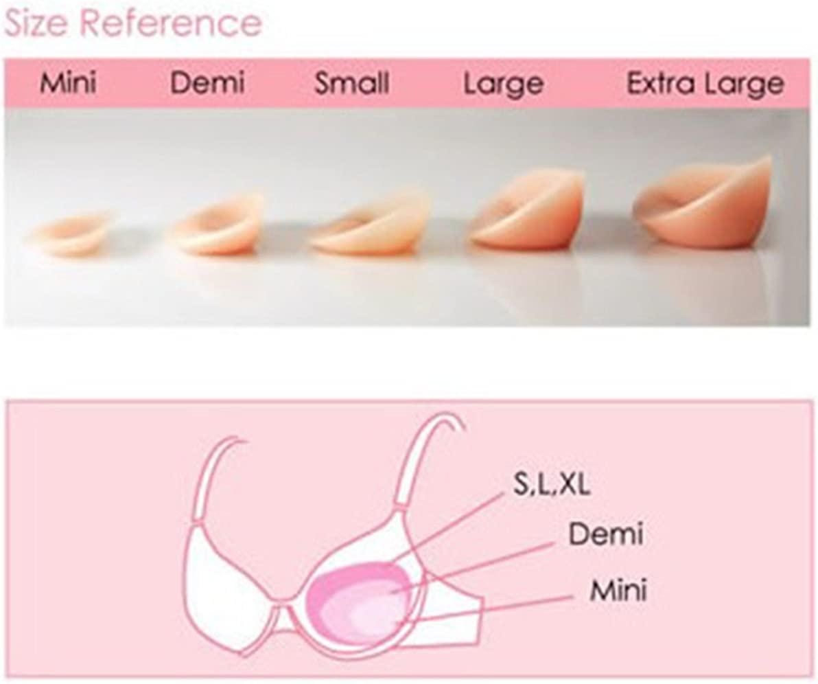 NuBra Invisible Breast Size Enhancers B106 Without Adhesive