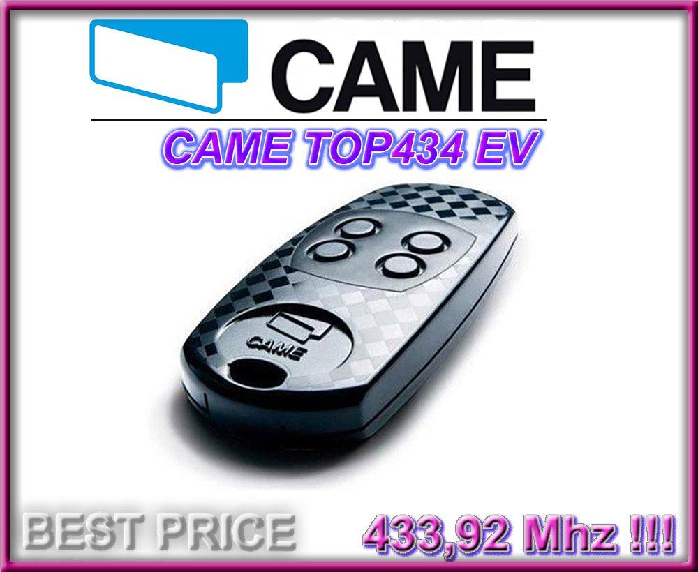 CAME TOP432EV klone fernbedienung Top Qualit/ät Kopierger/ät!!! CAME TOP434EV kompatibel handsender 4-kanal 433,92Mhz fixed code