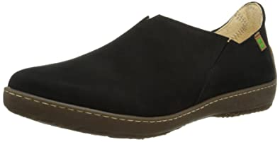 ND80 Bee, Mocassins Femme - Noir - Schwarz (Black), 36 EUEl Naturalista