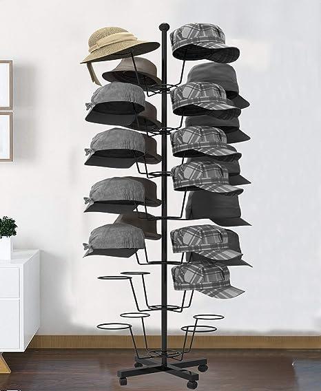 Oanon Modern Metal Retail Hat RackWig Display Stand W 40 Circular Mesmerizing Retail Shoe Display Stands Uk