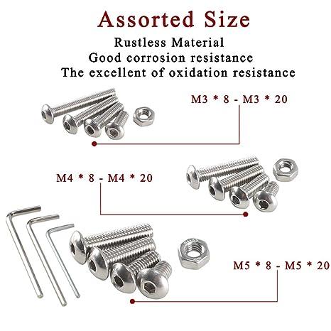Pure Copper 42X160/Pack of 5/Quality: Premium Aparoli SJA-105299/QP DIN 931/Hexagonal Screws with Shaft Set