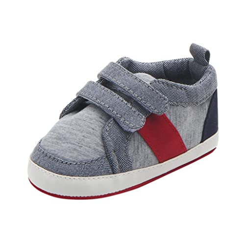 Newborn Baby Girl Boy Anti-slip Prewalker Toddler Casual Shoes Soft Sole Sneaker