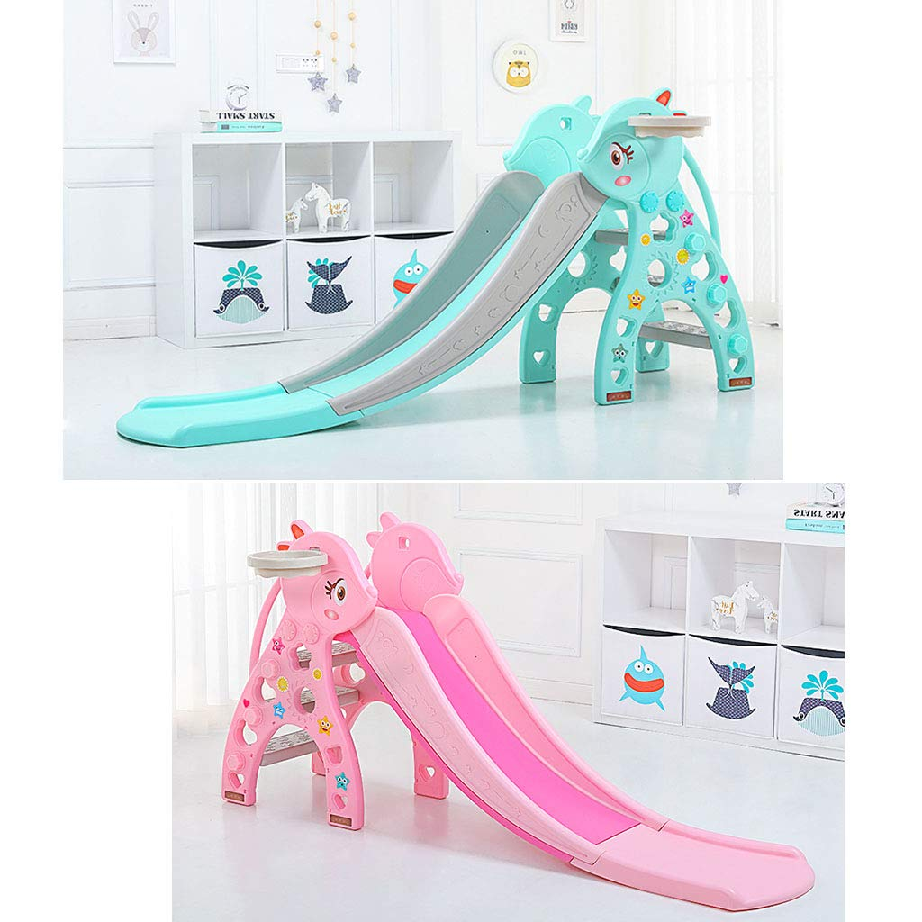 Freestanding Slides Children's Bedroom Small Slide Baby Home Slide Boy and Girl Room Toys Indoor Toy Amusement Park Children's Sports Equipment Multifunctional Folding Storage Children's Slide by Play Sets Playground Equipment (Image #3)