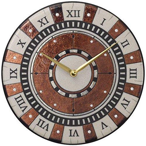 アントニオ ザッカレラ インテリア クロック 掛時計 イタリア製陶器枠 ザッカレラZ901 ZC901-009   B00YTYV0KM
