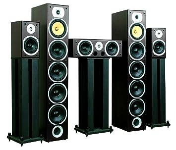 Beng V9B Home Theatre Speaker Set (5 Channel, 1240W MAX U0026 Bass Reflex Design