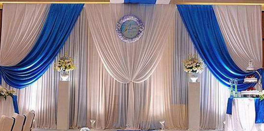ROYAL BLUE SPIDER WEB NET FABRIC ROLL150mm x 20M wedding venue sash craft party