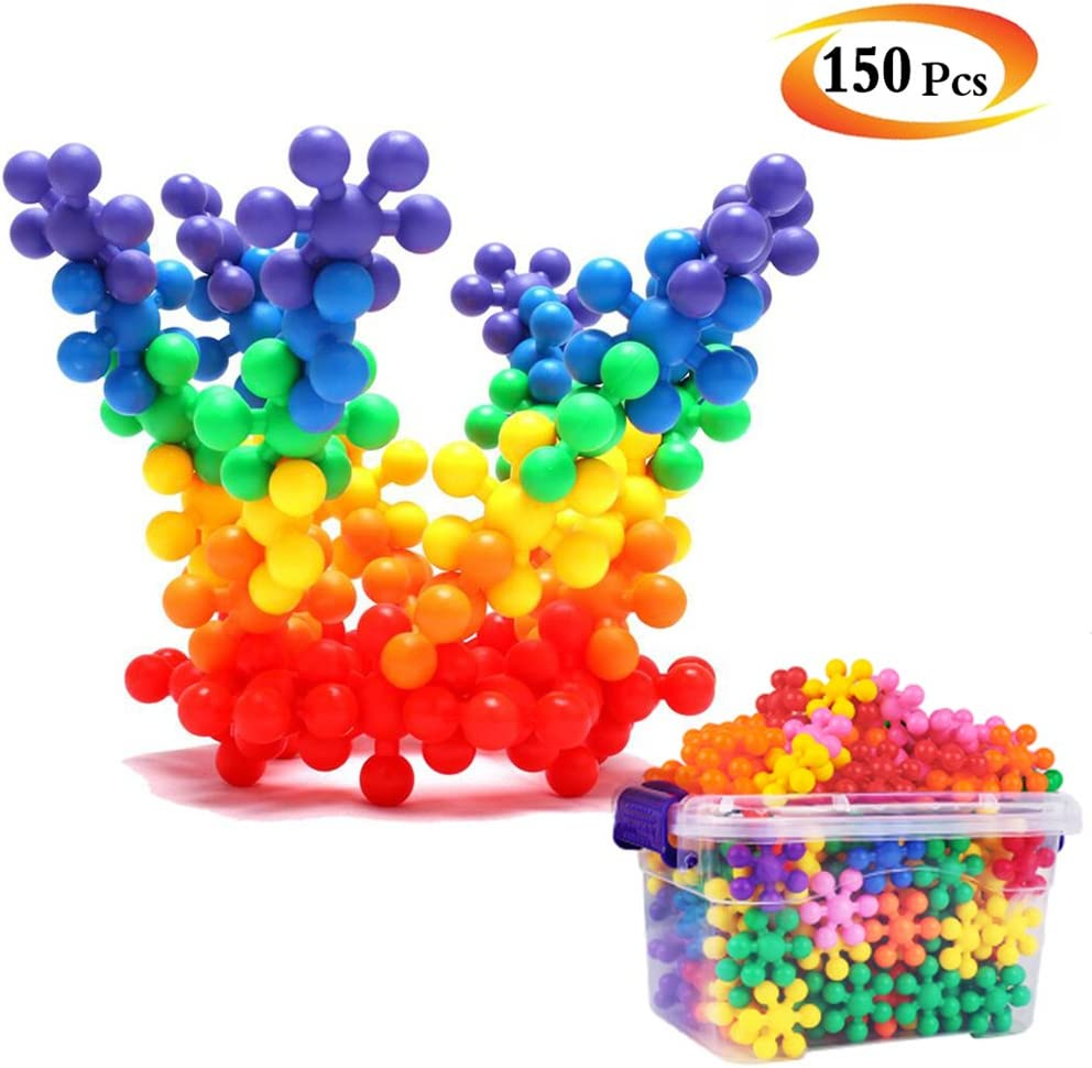 Creative Building Block Toys Set of 150 Pieces, A children Educational and Constructions Interlocking Plastic Toy - Best Gift for Kid