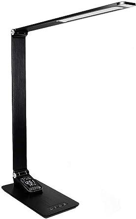 Lámpara de escritorio regulable, sensor táctil, control de ojo ...