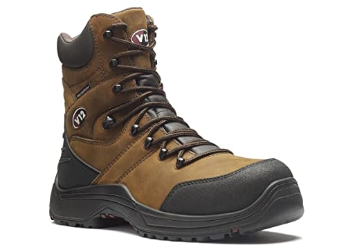 V12 Rocky IGS Waterproof Safety Work Boots Brown V1255.01 6-12 S3 SRC