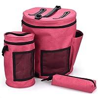 Strickgarn Storage Bag Accessory Organizer für alle Crochet Crochet Tasche Zubehör DIY Nähen leer