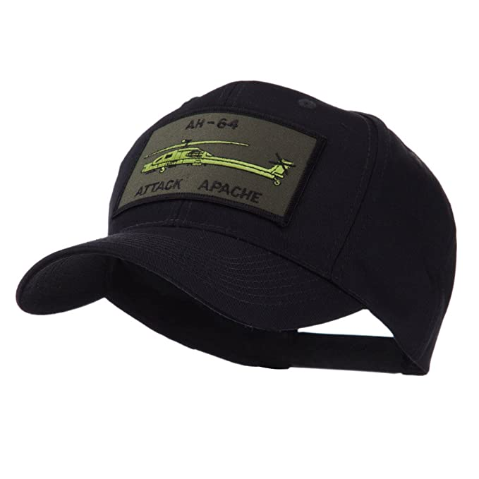 0f45c2f4 US Army Embroidered Military Patch Cap - Apache OSFM Black at Amazon ...