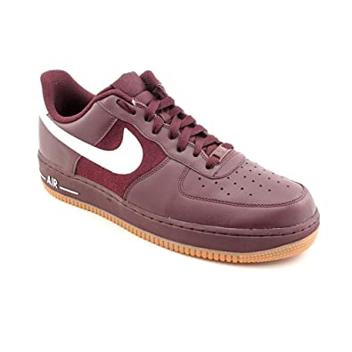 NIKE Air Force 1 07 Deep Burgundy White 2011 Mens Classic Casual Shoes  315122610  US 823c85bda