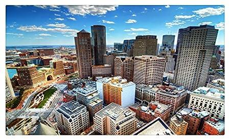 Estados Unidos casas rascacielos Sky Megapolis desde arriba ...