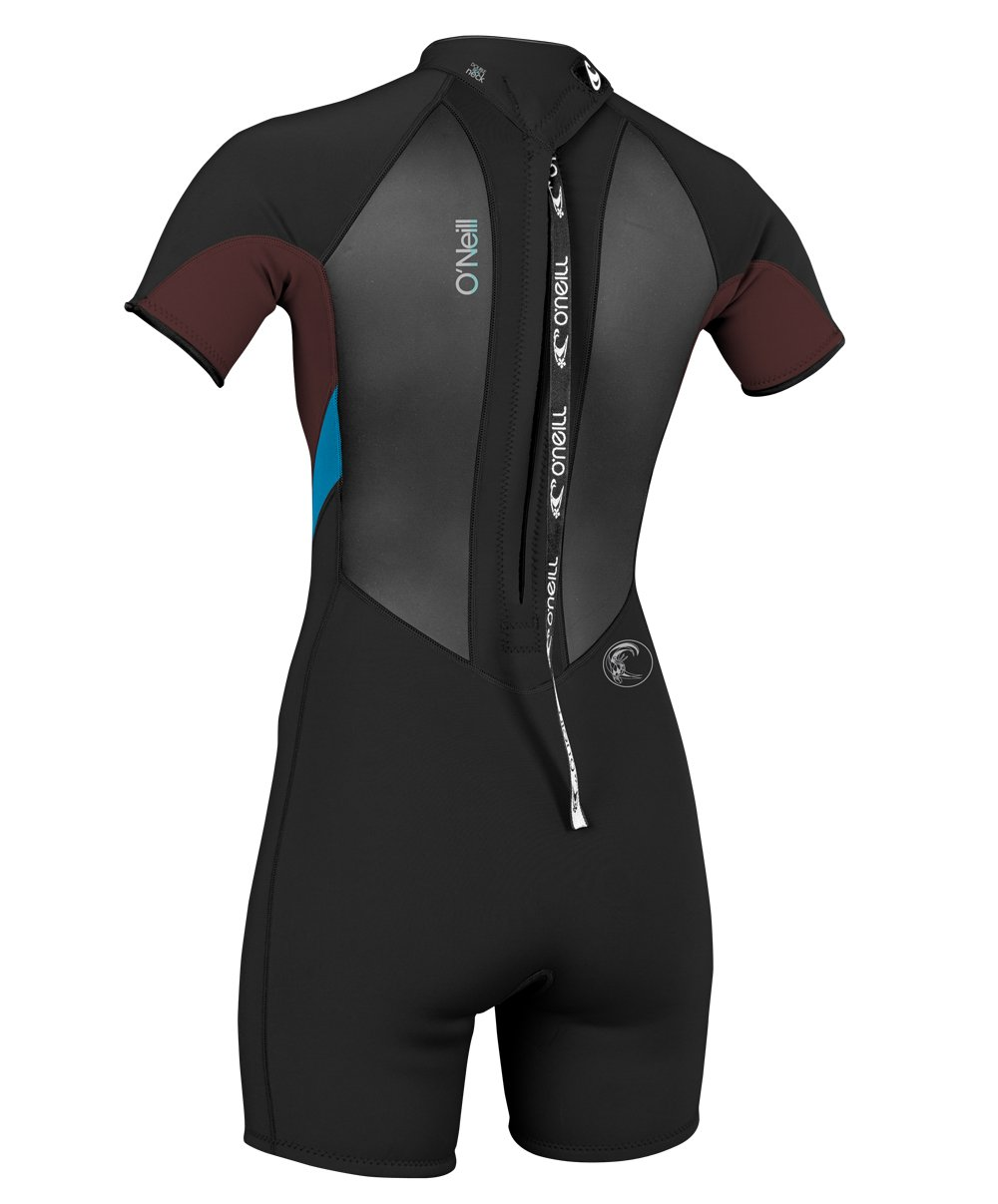046371e83d Amazon.com  O Neill Wetsuits Womens 2 1 mm Bahia Short Sleeve Spring  Wetsuit  Sports   Outdoors