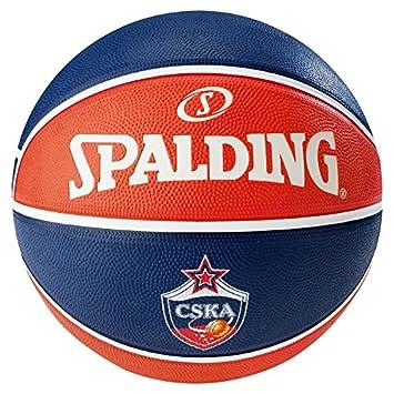 Spalding El Team CSKA Moscow Sz.7 (83-077Z) Balón de Baloncesto ...
