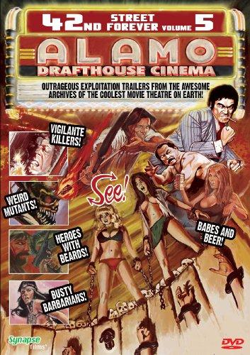 DVD : 42nd Street Forever: Volume 5: Alamo Drafthouse Cinema (DVD)