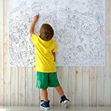 O'Kroshka Big Giant Coloring Poster! Colorings for Children Zooland. Сoloring Books for Kids and Adults. Color Me Posters for Family. Gift for kids children (118 х 84 cm)