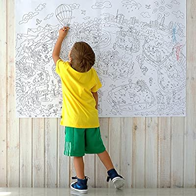 - Amazon.com: Big Giant Coloring Poster Colorings For Children Zooland. Coloring  Pages For Kids And Adults. Color Me Posters For Family (33.08 X 46.5 In):  Toys & Games