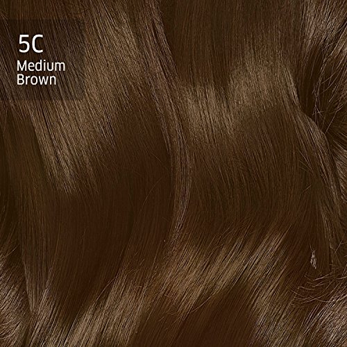 Clairol Natural Instincts Semi-Permanent Hair Color (Pack of 3), 5C Brass Free Medium Brown Color, Ammonia Free, Lasts for 28 Shampoos by Clairol (Image #6)