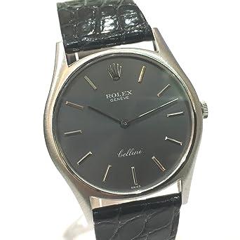 9b9b63b3a9 (ロレックス) ROLEX レディース腕時計 チェリーニ メンズ腕時計 腕時計 K18WG/クロコ革ベルト ボーイズ