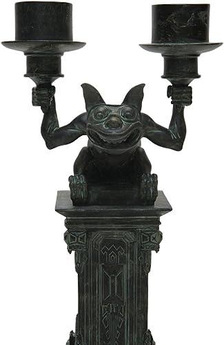Disney Park Haunted Mansion Gargoyle Figurine Candleabra Candle Holder NEW