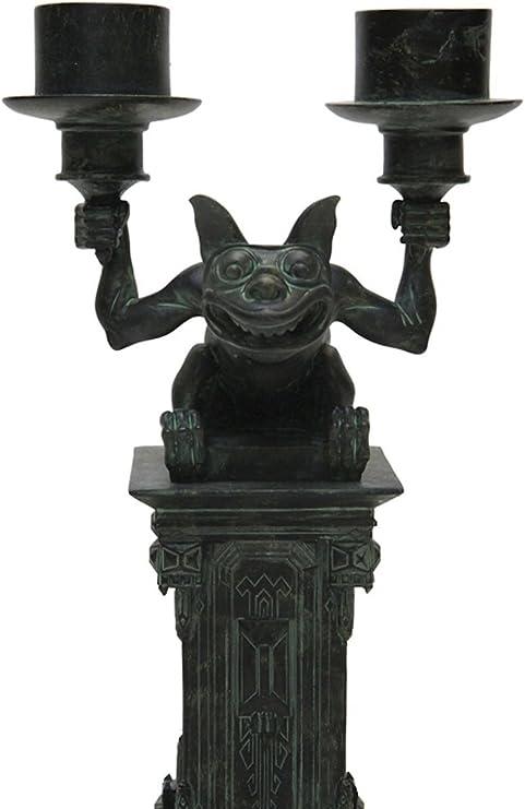 New Disney Parks The Haunted Mansion Gargoyle Bat Jewelry Dish Trinket Tray