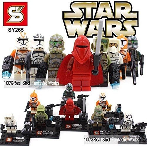 Star Wars Customs (8PCS/SET MiniFigures Building blocks Toys)