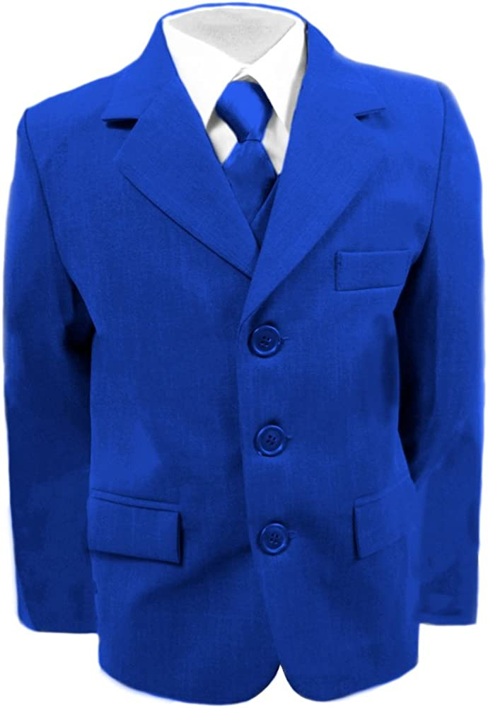 Gorgeous Boys Wedding Suits 16 Years Proms Cruises /& Partys 6 Months Royal Blue Suit