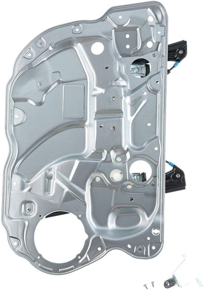 L/ève-vitre avec plaque m/étallique sans moteur avant gauche pour Polo 9N 4//5 portes 2001-2009 6Q4837461
