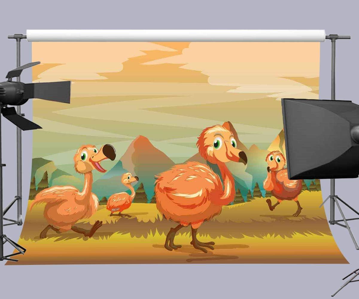 10x8ft Cartoon Turkey Photography Backdrop Customized Background Studio Photo Props LHFU328
