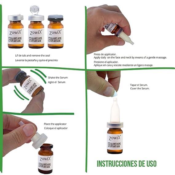 Tratamiento Anti Acne con Acido Salicilico. Serum contra el Acne que reduce Espinillas, Puntos negros y granos. Mejor que una Crema Antiacne.