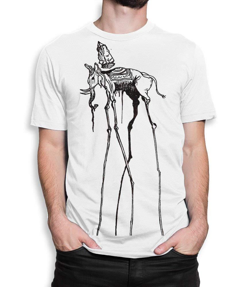 Space Elephant by Salvador Dali T-Shirt