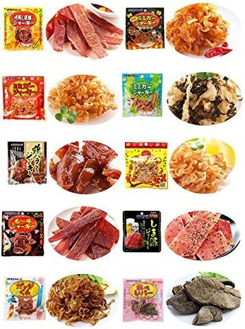 オキハムジャーキーミニ10種セレクト×3セット オキハム ミミガー・島豚・鶏ハラミ・ビーフなどのジャーキーミニをもりもり詰め合わせ 珍しい豚の顔皮のジャーキーや豚の耳ジャーキー、スッパイマンとのコラボ商品も 沖縄土産にも最適