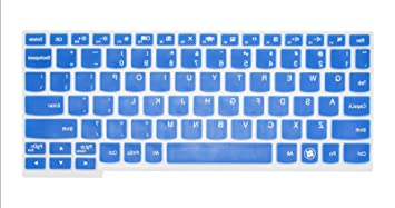 Amazon.com: Blue Ultra Thin Silicone Gel Keyboard Cover for ...