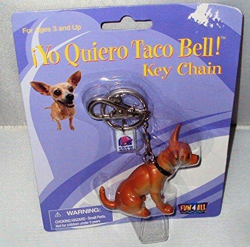Yo Quiero Taco Bell Key Chain (Taco Bell Chihuahua)